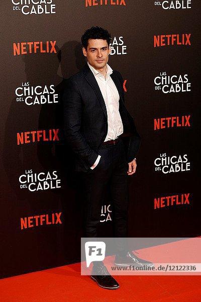 Premiere of the Netflix series Las chicas del cable.Nico Romero.Madrid. 27/04/2017.(Photo by Angel Manzano)..