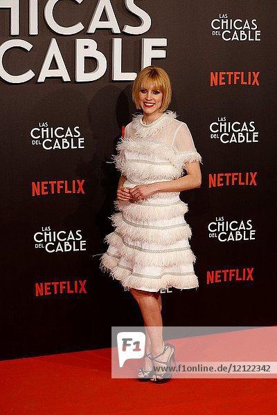 Premiere of the Netflix series Las chicas del cable.Nadia de Santiago y Maggie Civantos.Madrid. 27/04/2017.(Photo by Angel Manzano)..