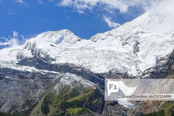 Alphubel - 4206m  Saas Fee  Wallis  Switzerland.