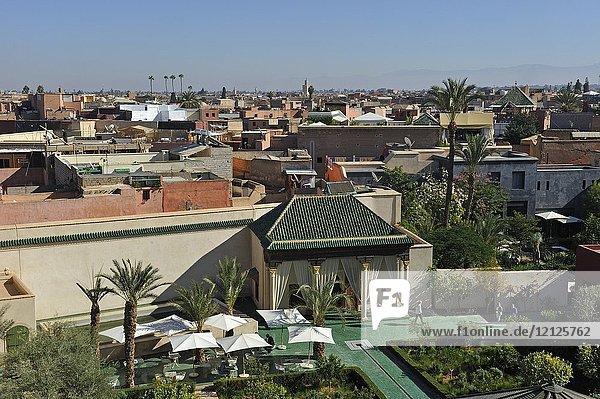 Jardin Secret  medina    Marrakesh  Morocco  North Africa.