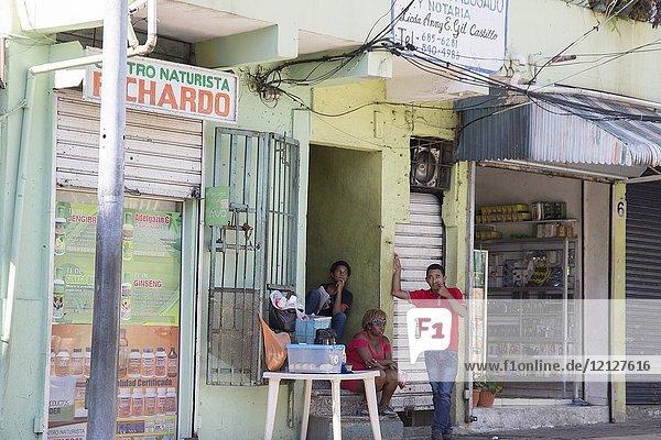 Street in Santo Domingo - Dominican Republic