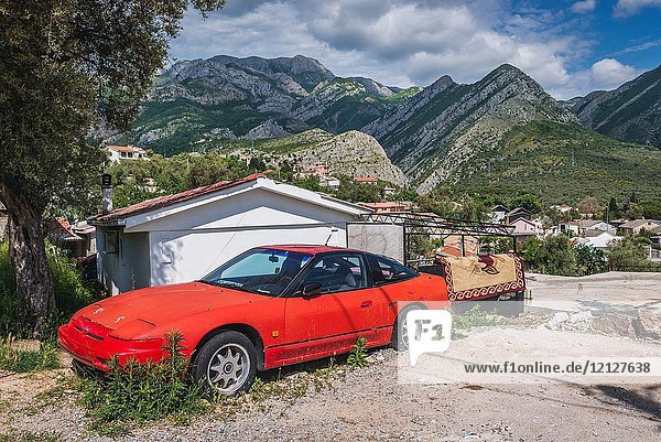 1990 Nissan 240SX XE Hatchback S13 in Stari Bar (Old Bar) - small town near Bar city  part of Bar Municipality in southern Montenegro.