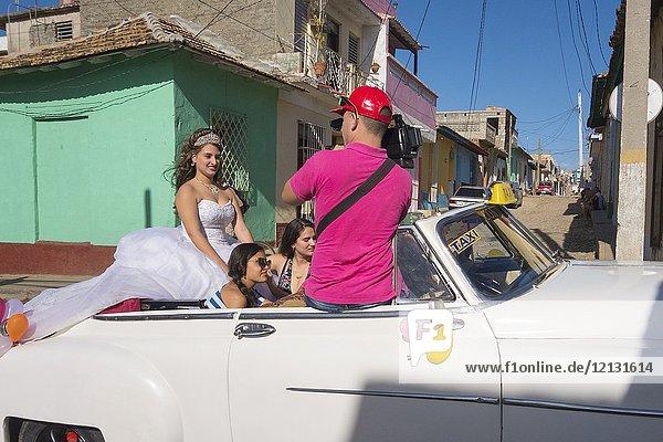Wedding in Trinidad  Cuba.