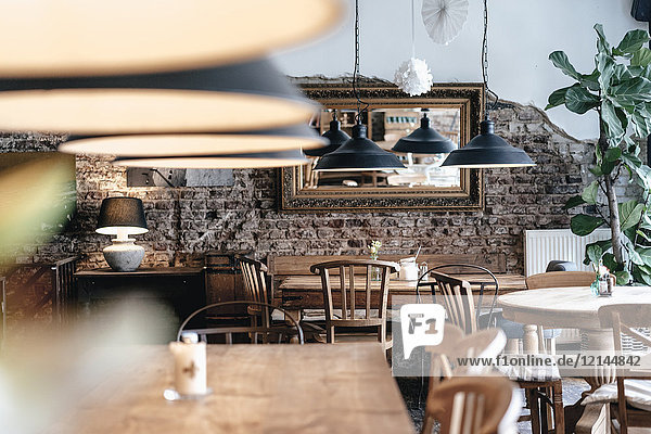 Interieur eines Cafés