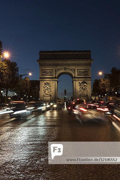 France  Paris  Arc de Triomphe de l?Etoile