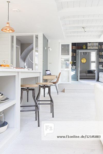 Luxus-Hausvitrine Küche