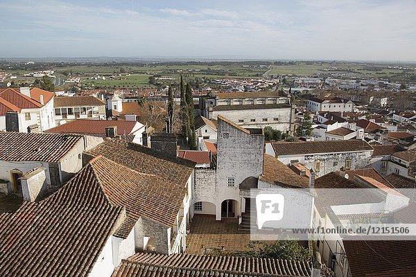 View of Evora  Portugal.