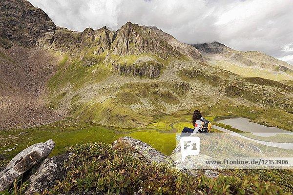 Wilde Wasser Weg  Stubaital  Neustift am Stubaital  Innsbruck Land  Tirol  Tyrol  Austria  Europe.