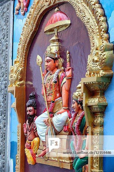 Sri Vadapathira Kaliamman hindu temple. Murugan.