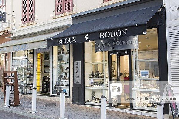 Bijoux Rodon Shop  Biarritz  Basque Country  France.