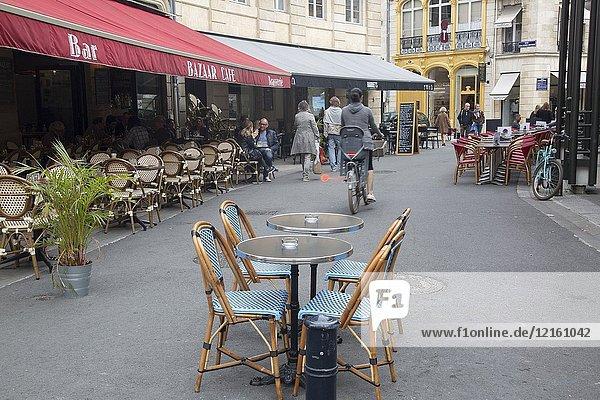 Grands Hommes Square  Bordeaux  France.
