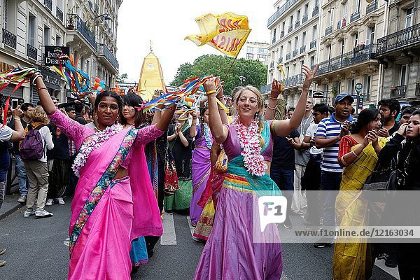 Ratha Yatra charriot festival in Paris