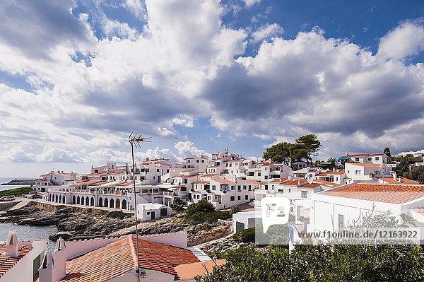The small village of Biniancolla-Punta Prima   Menorca   Balearic Islands   Spain.