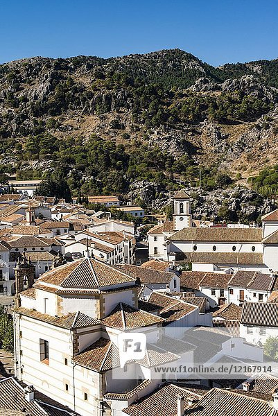 Village of Grazalema  Cadiz province  Andalucia  Spain.