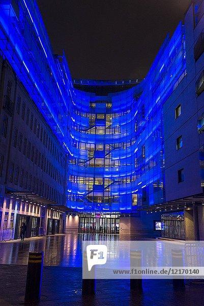 BBC Broadcasting House  Portland Place  London  England  UK.
