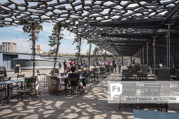 Museum der Zivilisationen Europas und des Mittelmeers  Marseille  Frankreich  Europa
