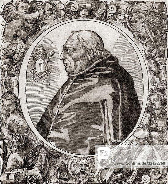 Martinus V  1369 -1431  born Otto or Oddone Colonna  Pope from 1417 to 1431.