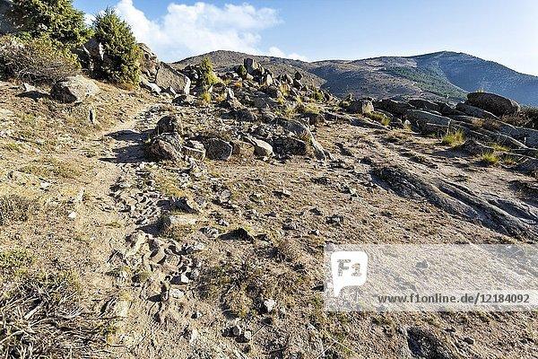 Cebrera hill in El Barraco. Avila. Spain