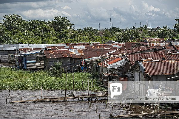 Pontianak waterfront  West Kalimantan  Indonesia