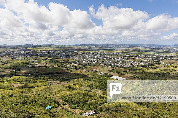 Mauritius  Blick auf St. Pierre
