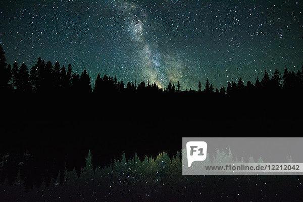 Milchstraßen-Galaxie  Nickelplatten-Provinzpark  Penticon  Britisch-Kolumbien  Kanada