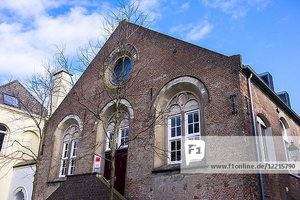 Traditional old house in 's-Hertogenbosch  the Netherlands  Europe.