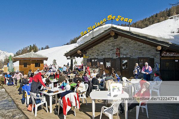 Pila  Aosta Valley  Italy