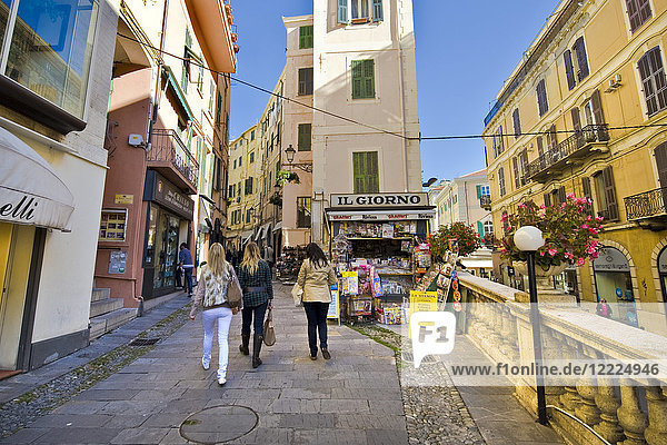 old town  Sanremo  Imperia province  Italy