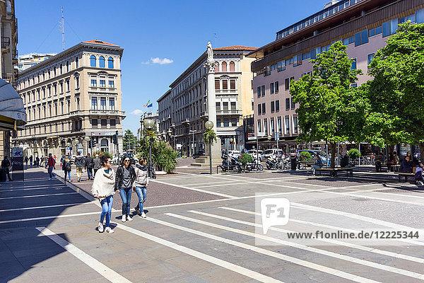 Italy  Veneto  Padua  Piazza Garibaldi