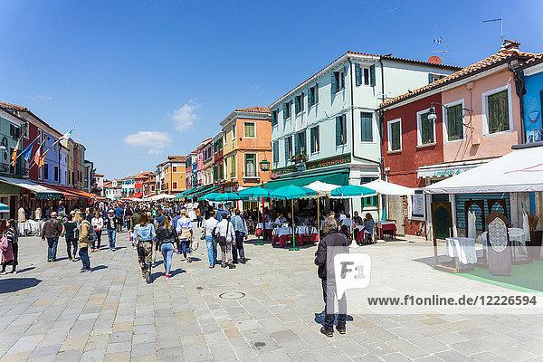 Italy  Veneto  Venice  Burano Island