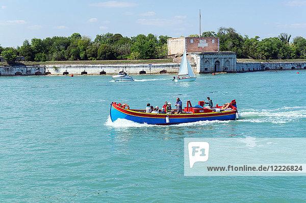 Italy  Veneto  Venice  cityscape from the lagoon