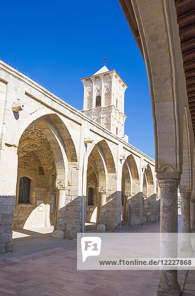 Greece  Cyprus  Larnaka  the porch of the St. Lazarus church