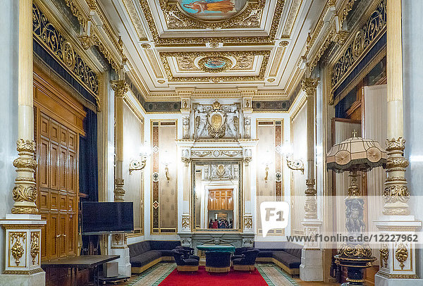 Austria  Vienna  The paintings and decorations of the State Opera theater halls