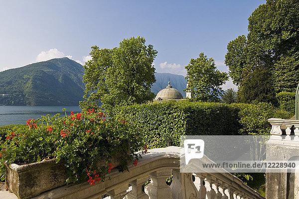 Villa Carlotta  Tremezzo  Como lake  Lombardy  Italy