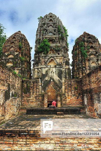 Asia  Thailand  Sukhothai Historical Park  Wat Si Sawai temple