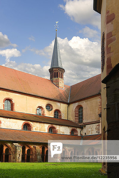Germany  Baden-Wuerttemberg  Wertheim  former Cistercian Bronnbach Monastery  Cloister