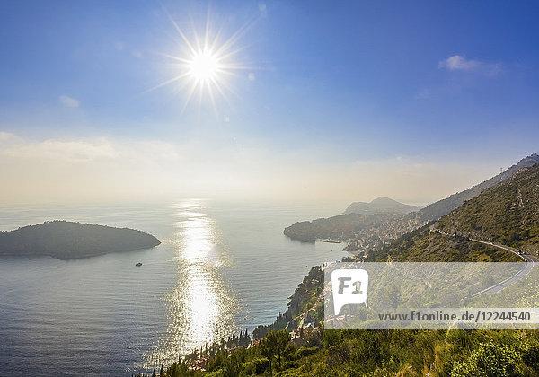 Bucht von Dubrovnik  Kroatien