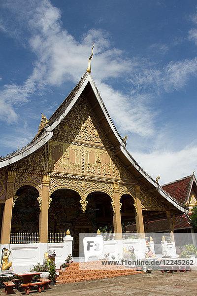 Wat May Temple  Luang Prabang  Laos  Indochina  Southeast Asia  Asia