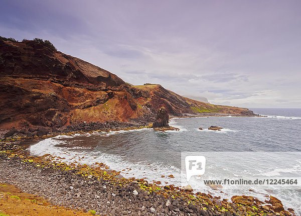 Coast of Porto Afonso  Graciosa Island  Azores  Portugal  Atlantic  Europe