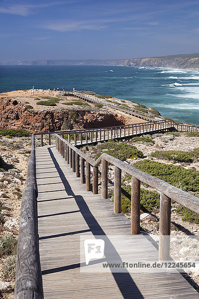 Praia da Borderia beach  Carrapateira  Costa Vicentina  west coast  Algarve  Portugal  Europe
