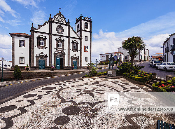 Church of Sao Jorge  Nordeste  Sao Miguel Island  Azores  Portugal  Atlantic  Europe