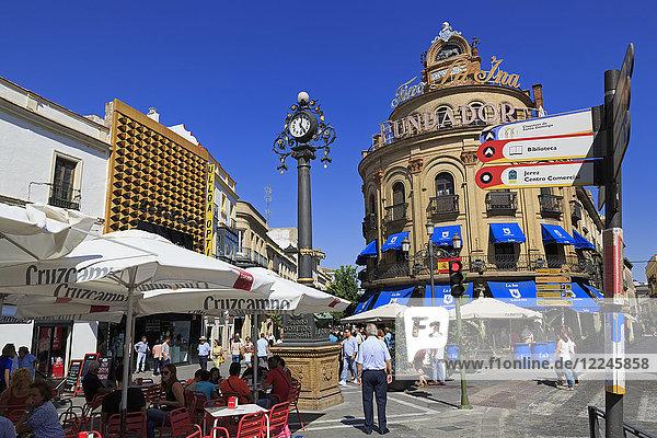 Galle Azul Building  Jerez de la Frontera  Andalusia  Spain  Europe