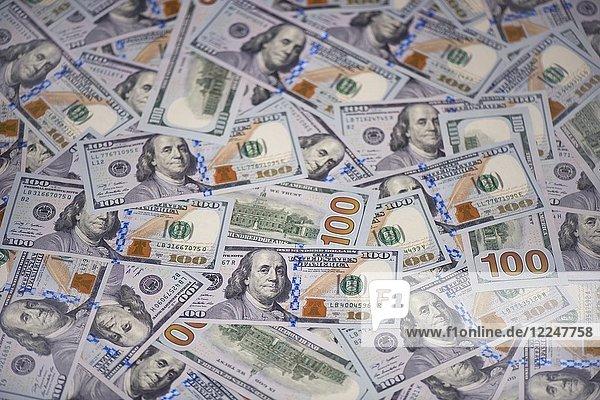 Neue 100 US Dollar Banknoten