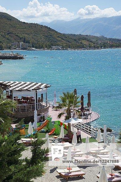 Radhime  Riviera  Ionisches Meer  Albanien  Europa