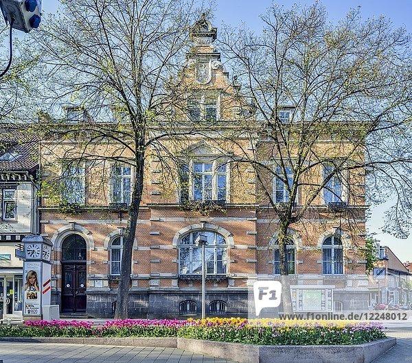 Rathaus der Stadt Bad Pyrmont  ehemaliges kaiserliches Postamt  Brunnenstraße  Bad Pyrmont  Niedersachsen  Deutschland  Europa