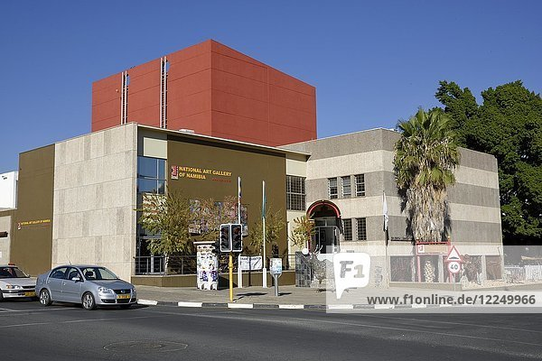 National Art Gallery of Namibia  Nationalgallerie  Windhoek  Khomas Region  Namibia  Afrika