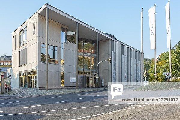 Besucherzentrum der Porzellanmanufaktur Meißen  Sachsen  Deutschland  Europa