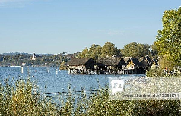 Pfahlbaumuseum Unteruhldingen  Uhldingen-Mühlhofen  Bodensee  Baden-Württemberg  Deutschland  Europa