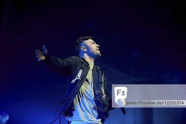 Rapper Marteria im Konzert  Koblenz  Rheinland-Pfalz  Deutschland  Europa