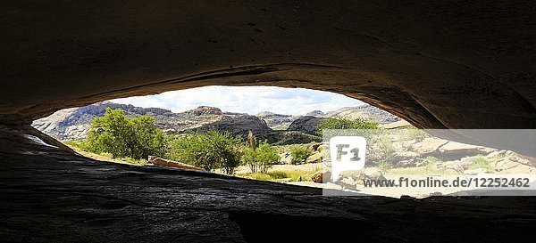 Phillips Cave  Ameib Ranch  Erongo Region  Namibia  Afrika